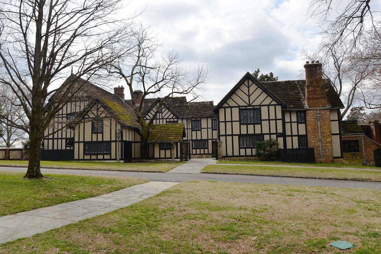 Photo of Agecroft Hall.