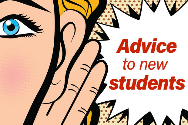 Advice to new students