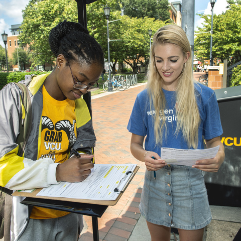 'A culture of voting': On Election Day, turnout at polling places at and near VCU was up 71%