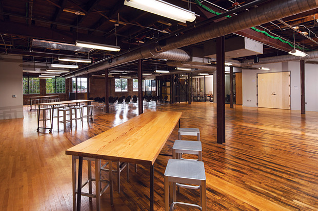 Creative platform: The newly renovated Depot is a dazzling feat of adaptive reuse